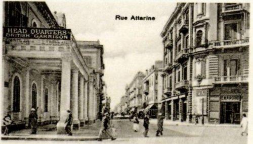 Rue Fuad breaking off into Rue Attarine