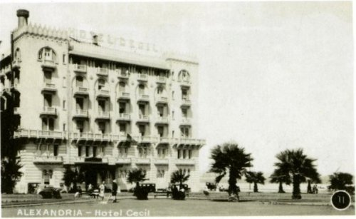 The Cecil Hotel. Headquarters of British operations in WWII and pretty much the landmark pension of the city.