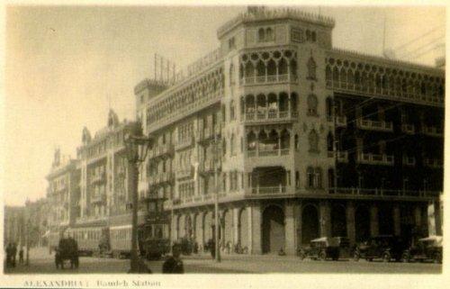 Venetian-Moorish architecture around Ramleh Station